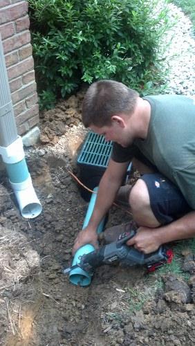 Cincinnati drainage specialists!